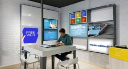 AD99, per banca BCE, ha realizzato il design interno delle filiali