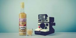 Brand identity, labelling per Liquori Gorfer