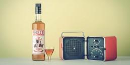 AD99 ha sviluppato il progetto completo di re-branding per Liquori Gorfer