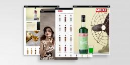 Liquori Gorfer interfaccia grafica e web design by AD99