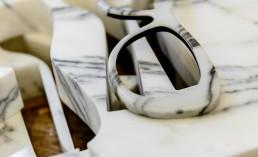 Morà by Busoli Eyewear - occhiali marmo e carbonio