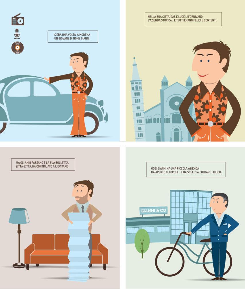 Coopgas: lo Storytelling per narrare un brand, con uno stile multicanale